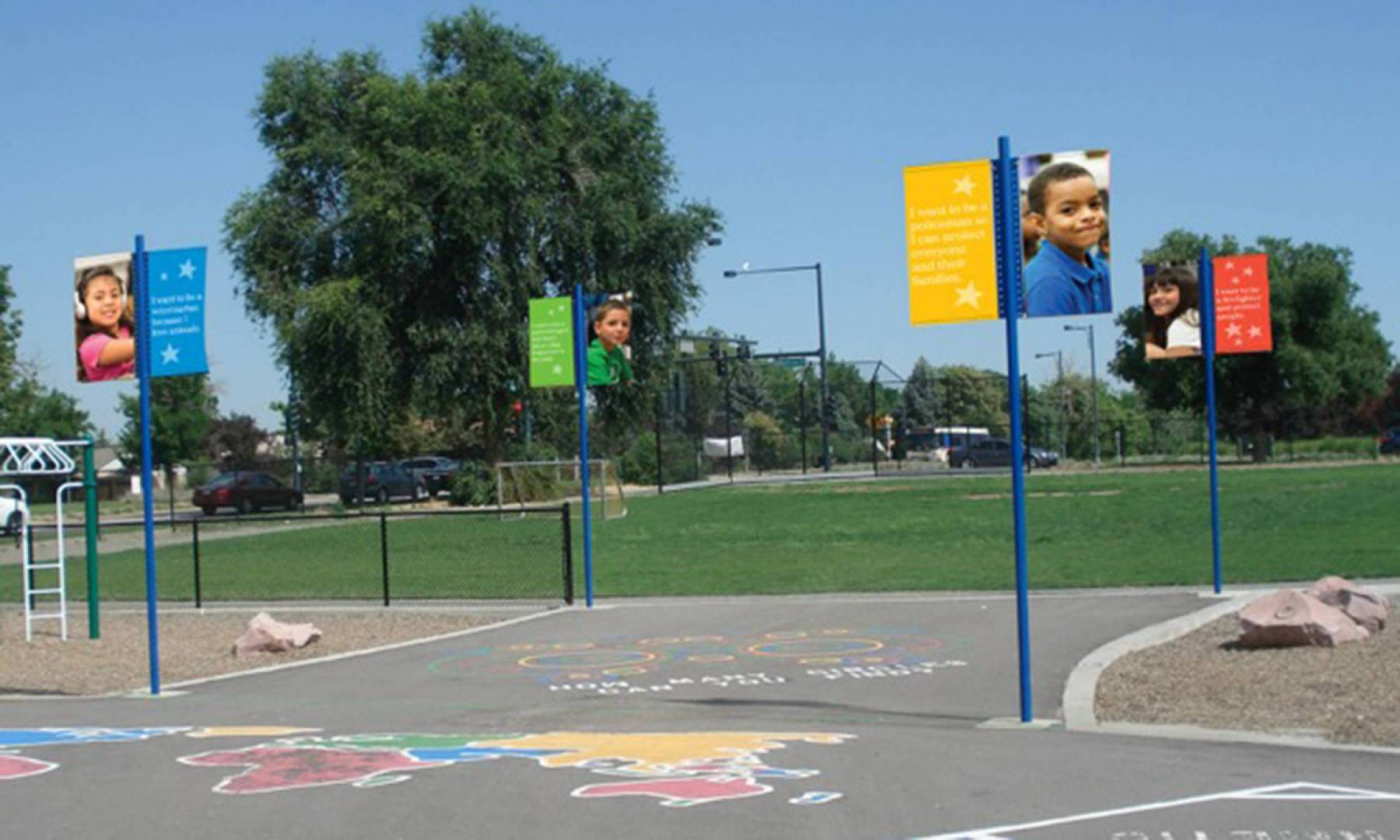 DPS Ashley playground signs